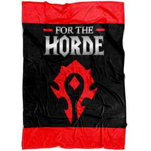 "World of Warcraft ""For the Horde"" Fleece Blanket"