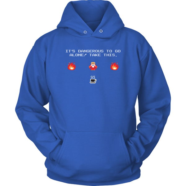 It's Dangerous To Go Without Coffee Hoodie