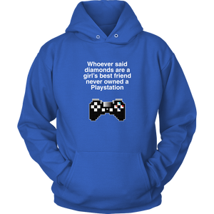 Playstation is a Girl's Best Friend Hoodie