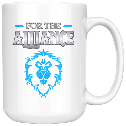 "World of Warcraft ""For the Alliance"" Mug"