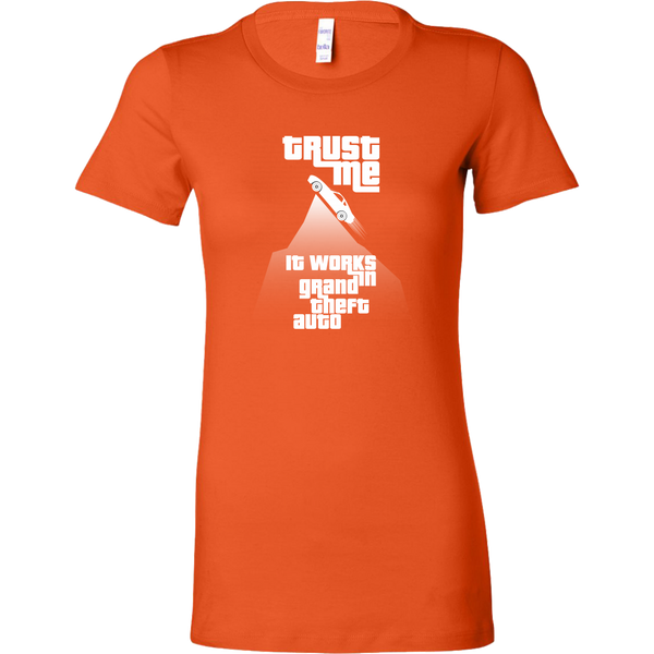 Grand Theft Auto Mountain Stunt Women's T-Shirt