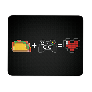 Food + Xbox = Love Mouse Pad