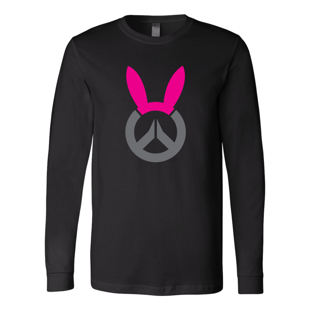 Overwatch D.Va Bunny Logo Long Sleeve Shirt