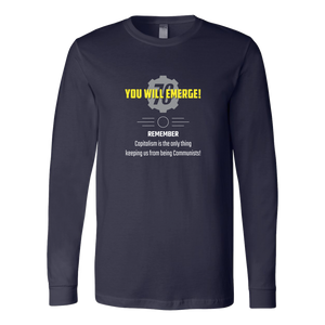 Fallout 76 You Will Emerge Long Sleeve Shirt