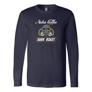Fallout Nuka Coffee Dark Roast Long Sleeve Shirt