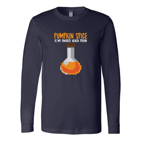 Pumpkin Spice Flavored Health Potion Long Sleeve Shirt
