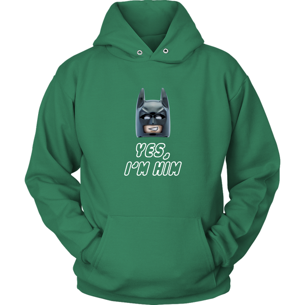 Lego Batman Yes I'm Him Hoodie