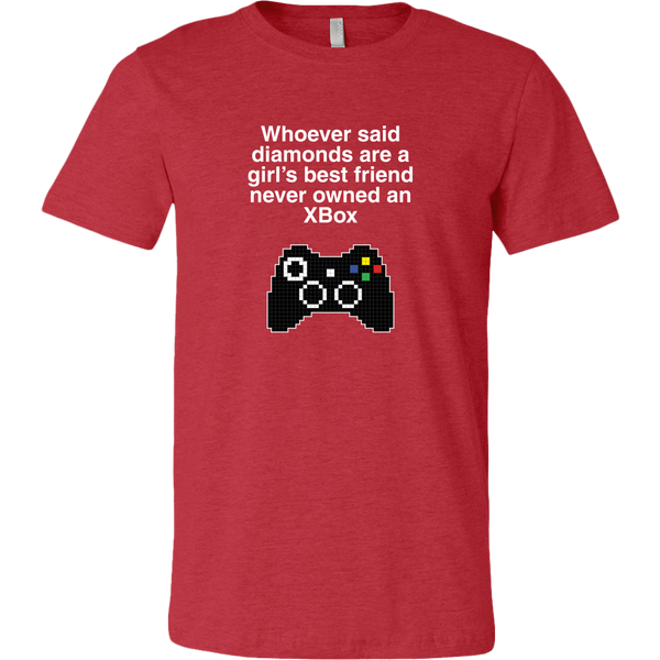 Xbox is a Girl's Best Friend Men's T-Shirt