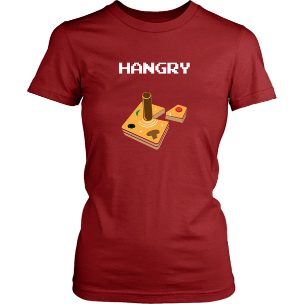 Hangry Pizza Joystick Logo Women's T-Shirt