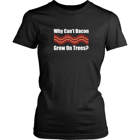 Bacon Tree Wish Women's T-Shirt