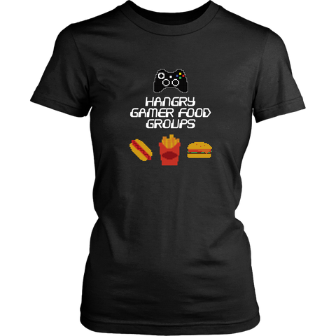 Gaming Food Groups (Xbox Edition) Women's T-Shirt