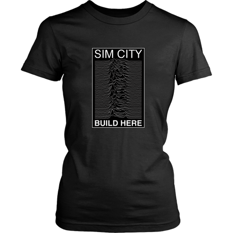 Joy Division Realm in Sim City Women's T-Shirt