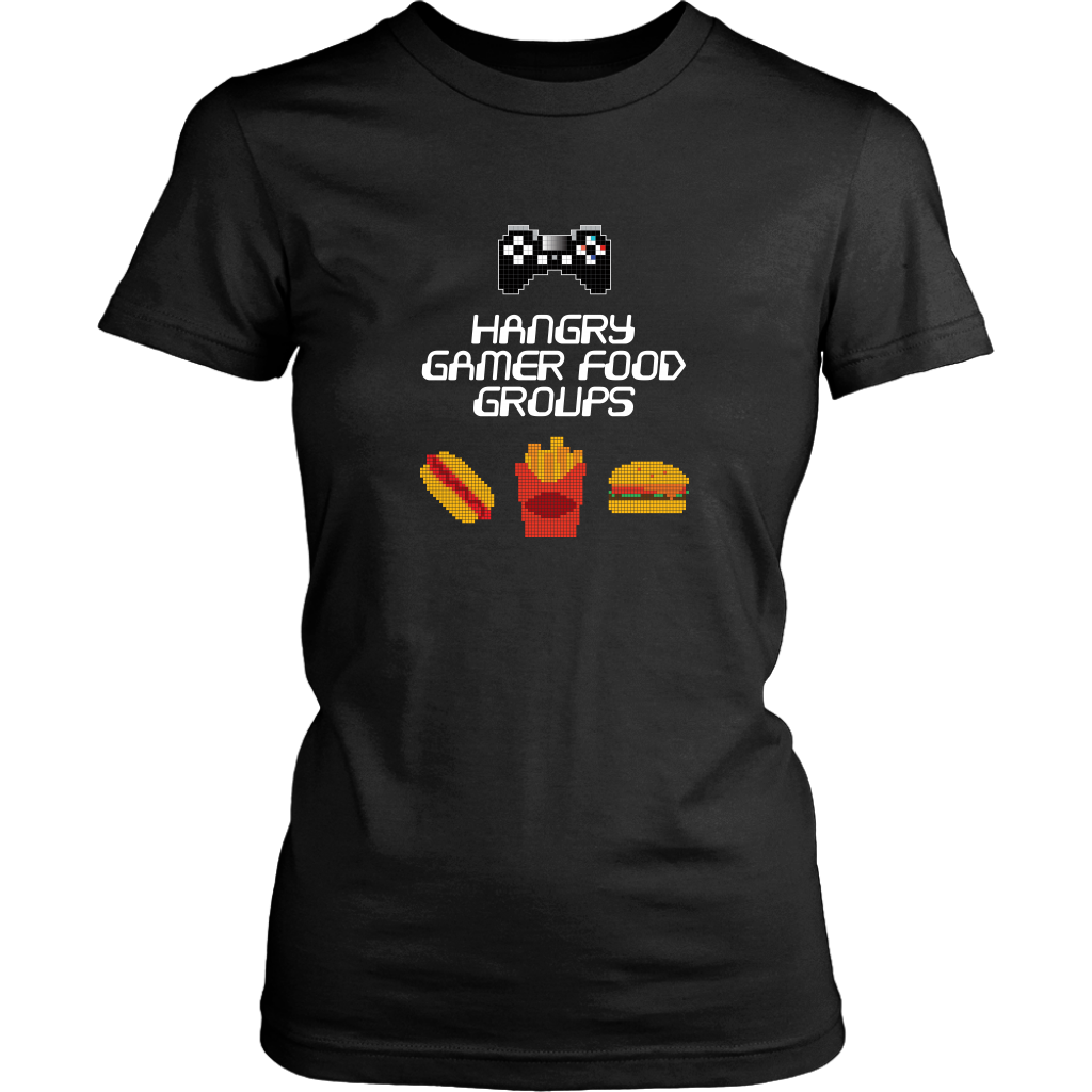 Gaming Food Groups (Playstation Edition) Women's T-Shirt