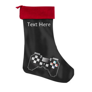 Playstation Fan Personalized Christmas Stocking
