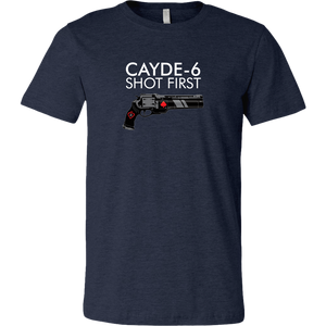 Destiny Cayde-6 Shot First Men's T-Shirt