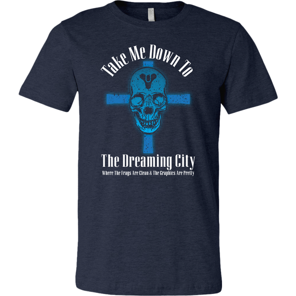 Destiny Dreaming City 80's Style Men's T-Shirt