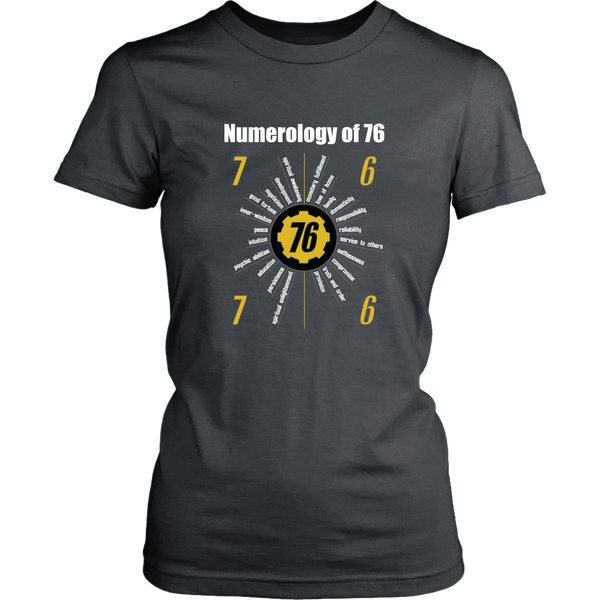 Fallout 76 Numerology Women's T-Shirt