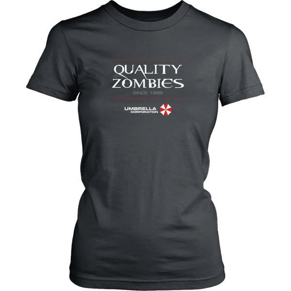 Resident Evil Quality Zombies by Umbrella Corporation Women's T-Shirt