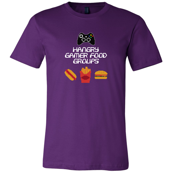 Gaming Food Groups (Xbox Edition) Men's T-Shirt