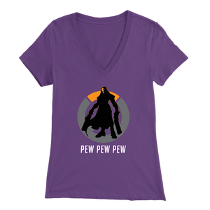 Overwatch Reaper Women's V-Neck T-Shirt