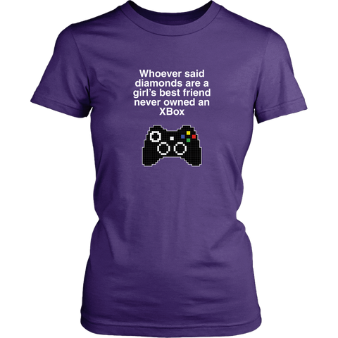 Xbox is a Girl's Best Friend Women's T-Shirt