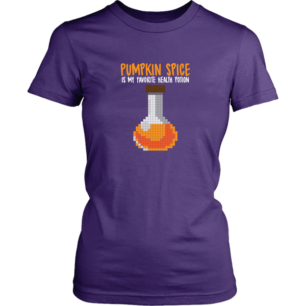 Pumpkin Spice Flavored Health Potion Women's T-Shirt