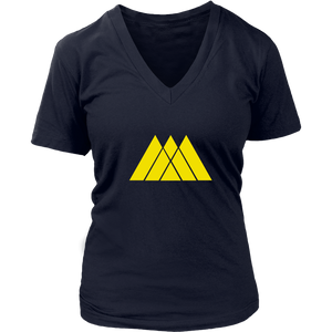 Destiny Warlock Crest Women's V-Neck T-Shirt