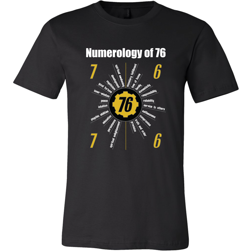 Fallout 76 Numerology Men's T-Shirt
