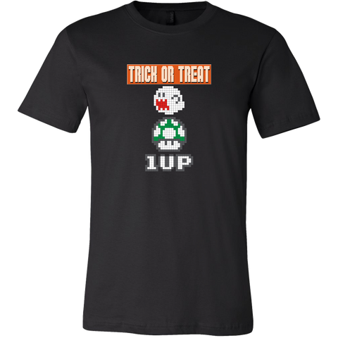 Trick or Treat Retro Gaming Men's T-Shirt