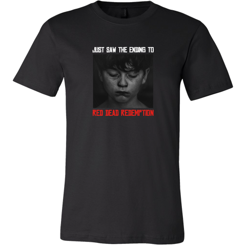 Red Dead Redemption Sadness Men's T-Shirt