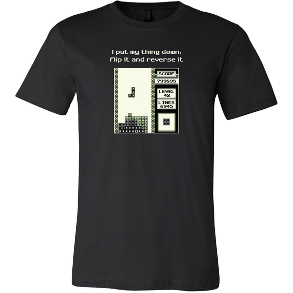 Tetris Put My Thing Down Men's T-Shirt