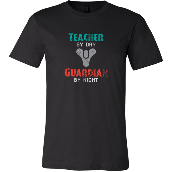 Destiny Teacher by Day, Guardian by Night Men's T-Shirt