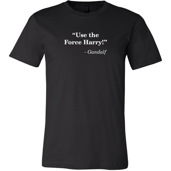 Confused Movie Crossover Catchphrase Men's T-Shirt