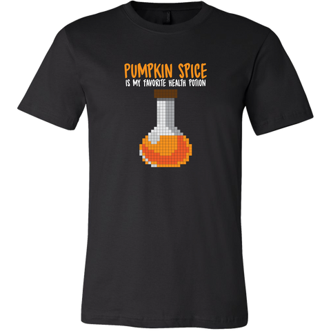 Pumpkin Spice Flavored Health Potion Men's T-Shirt