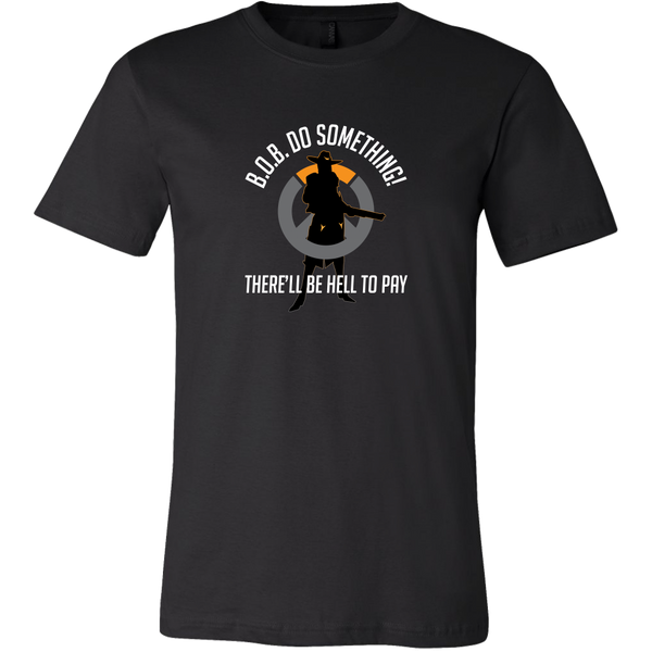 Overwatch Ashe B.O.B / Hell to Pay Men's T-Shirt