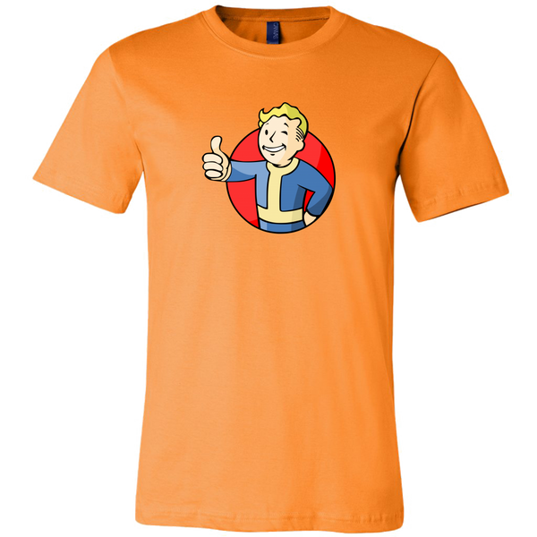 Fallout Vault Boy Thumbs Up Men's T-Shirt