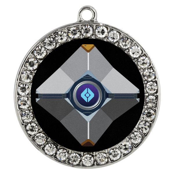 Destiny Ghost Stone Coin Necklace