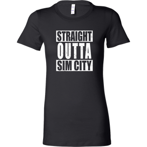 Straight Outta SimCity Women's T-Shirt