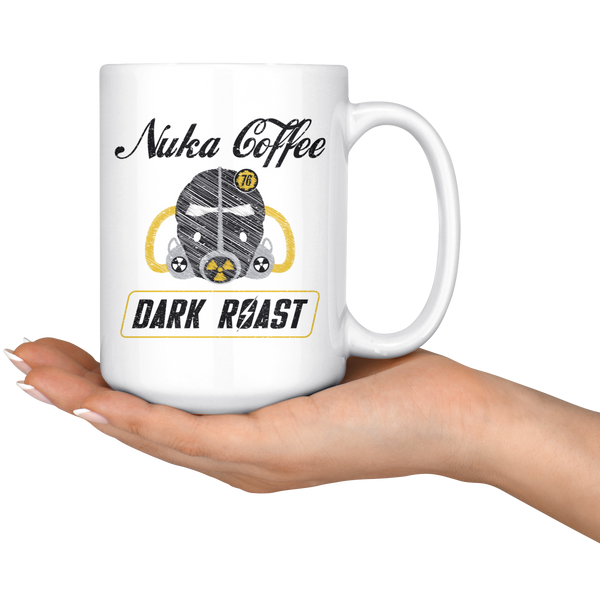 Fallout Nuka Coffee Dark Roast Mug