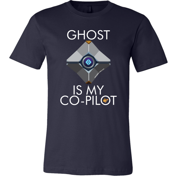 Ghost is my Co-Pilot (Centered Ghost) Men's T-Shirt