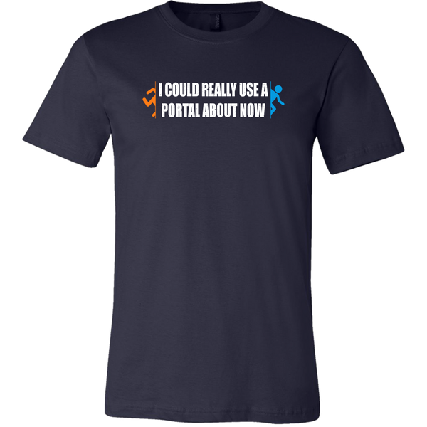 I Could Use a Portal Right Now Men's T-Shirt