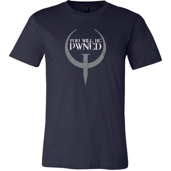 Classic Quake PWNED Men's T-Shirt