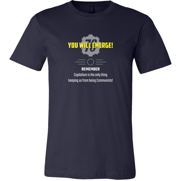 Fallout 76 You Will Emerge Men's T-Shirt