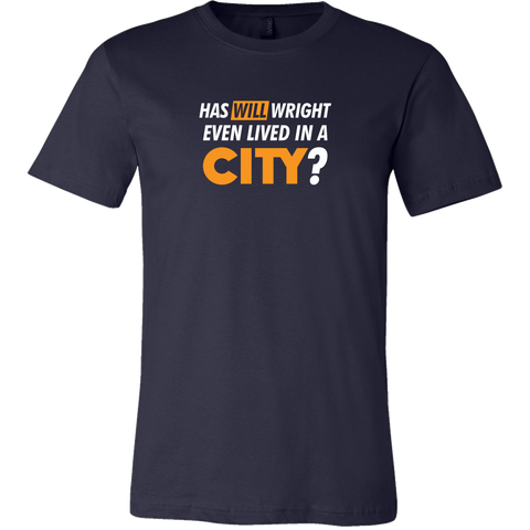 SimCity Will Wright Fan Question Men's T-Shirt