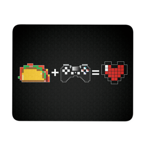 Food + Playstation = Love Mouse Pad