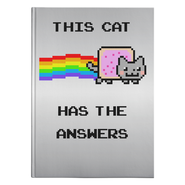 Nyan Cat Hardcover Journal