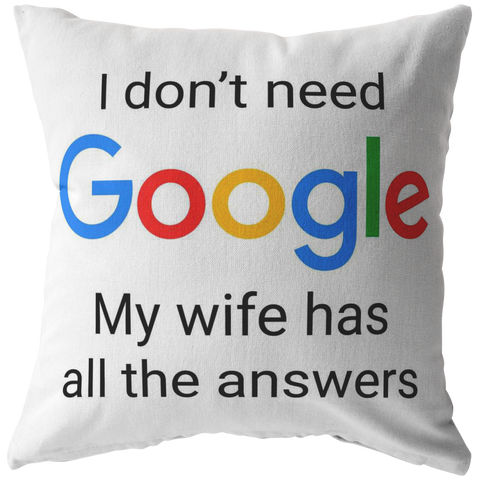 The Smartest Man In the World Pillow