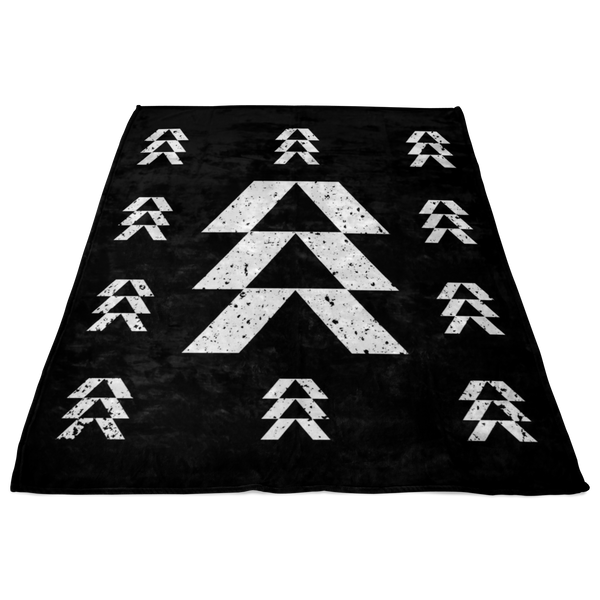 Destiny Hunter Logo Fleece Blanket