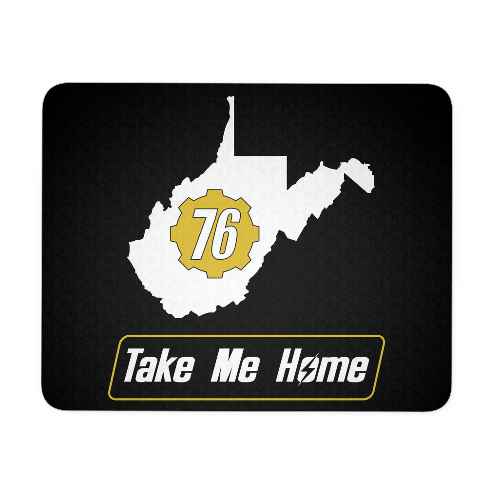 Fallout 76 Take Me Home Mouse Pad