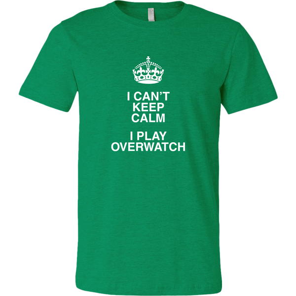 Can't Keep Calm, I'm Play Overwatch Men's T-Shirt